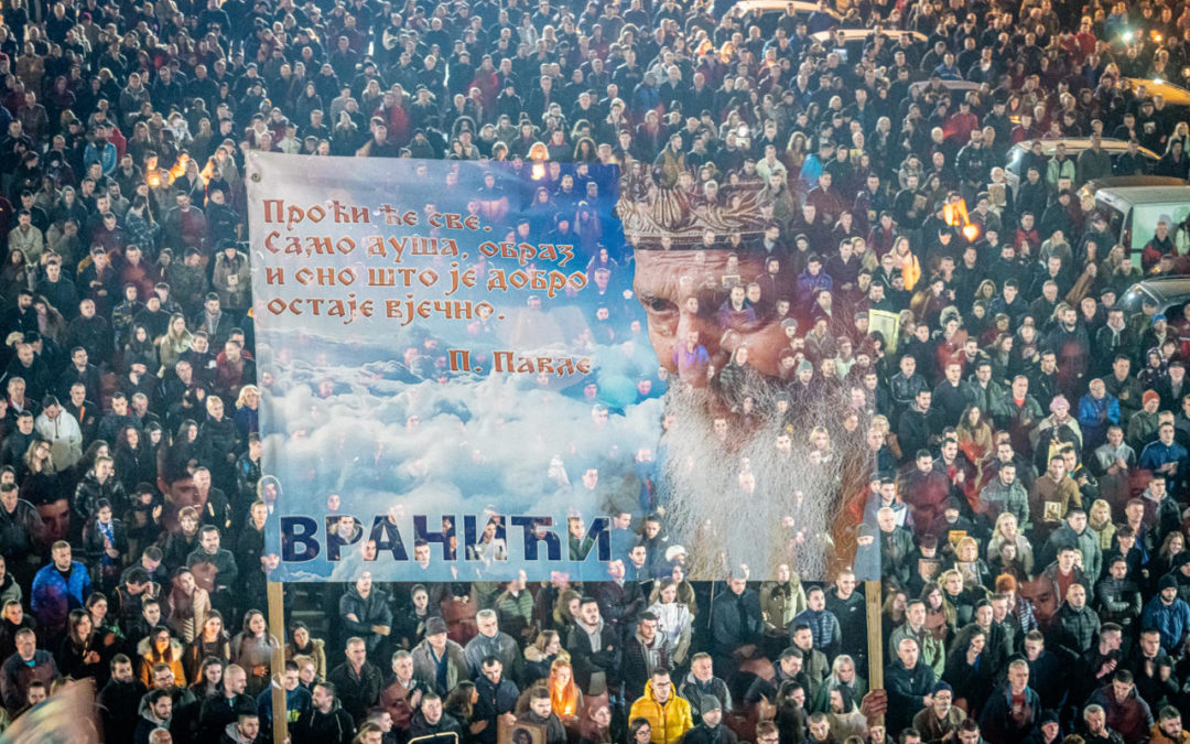 Photo of GOJKO PEROVIĆ: U još većem broju pohitati na naše litije, da se još jače i jasnije čuju naši zahtjevi