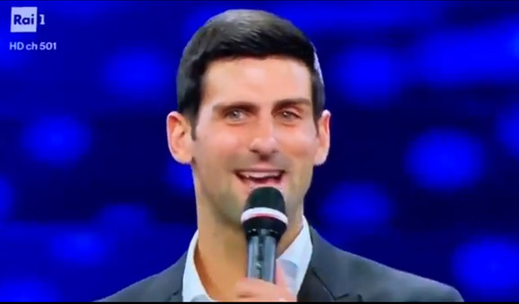 Photo of SPEKTAKL U ITALIJI: Novak Đoković nastupio na San Remu (VIDEO)