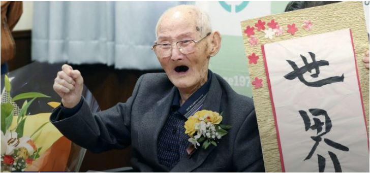 Photo of Zvanično najstariji čovjek na svijetu otkriva TAJNU dugovječnosti