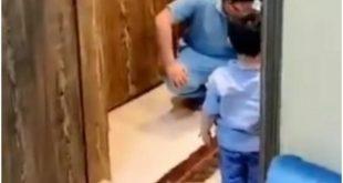 LJEKAR DOŠAO KUĆI I ZAPLAKAO! Ne smije da ZAGRLI SINA, užasi epidemije ne ostaju u bolnici (VIDEO)