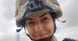 CRNOGORKA RATNICA: Nikolina ima svega 21 godinu i po dva osnova je PRVA u Avganistanu (FOTO)
