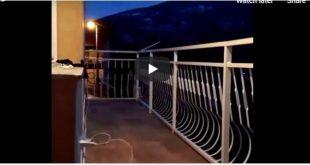 KORONA GA NIJE SPRIJEČILA: Pretrčao polumaraton na terasi, policija bila ZBUNJENA (VIDEO)