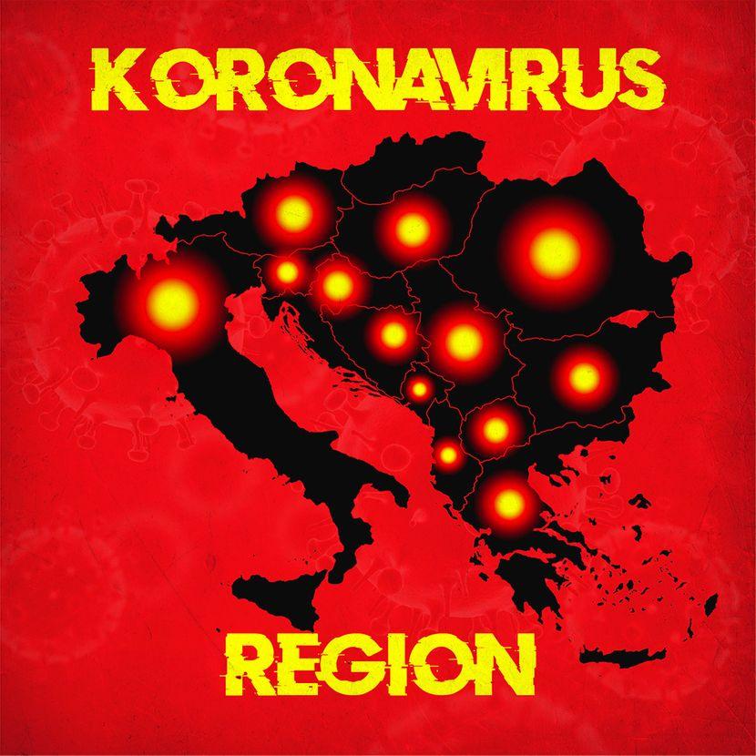 Photo of Danas u regionu zabilježen najmanji broj novih slučajeva koronavirusa