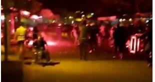 HAOS U NIKŠIĆU: Novinar spasavao invalida od suzavca (VIDEO)