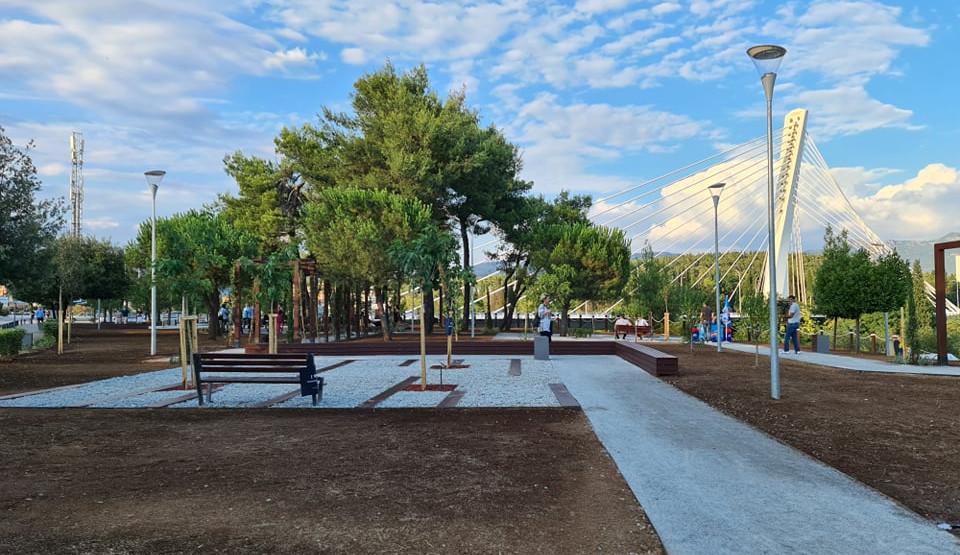 Photo of PODGORICA: Uskoro počinje druga faza izgradnje parka