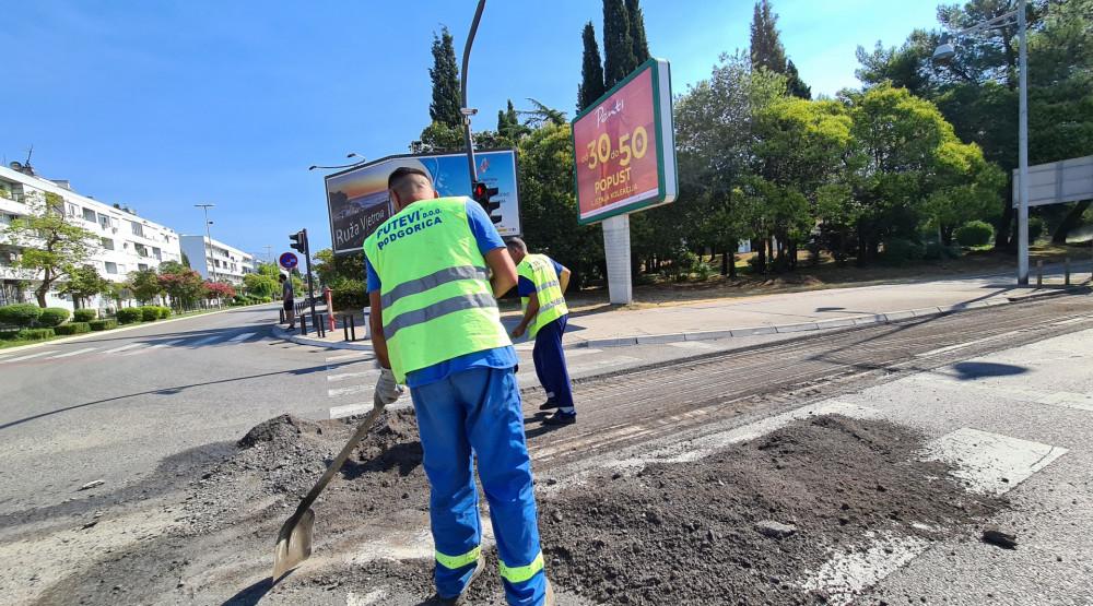 Photo of Počela druga faza rekonstrukcije Bulevara Svetog Petra Cetinjskog