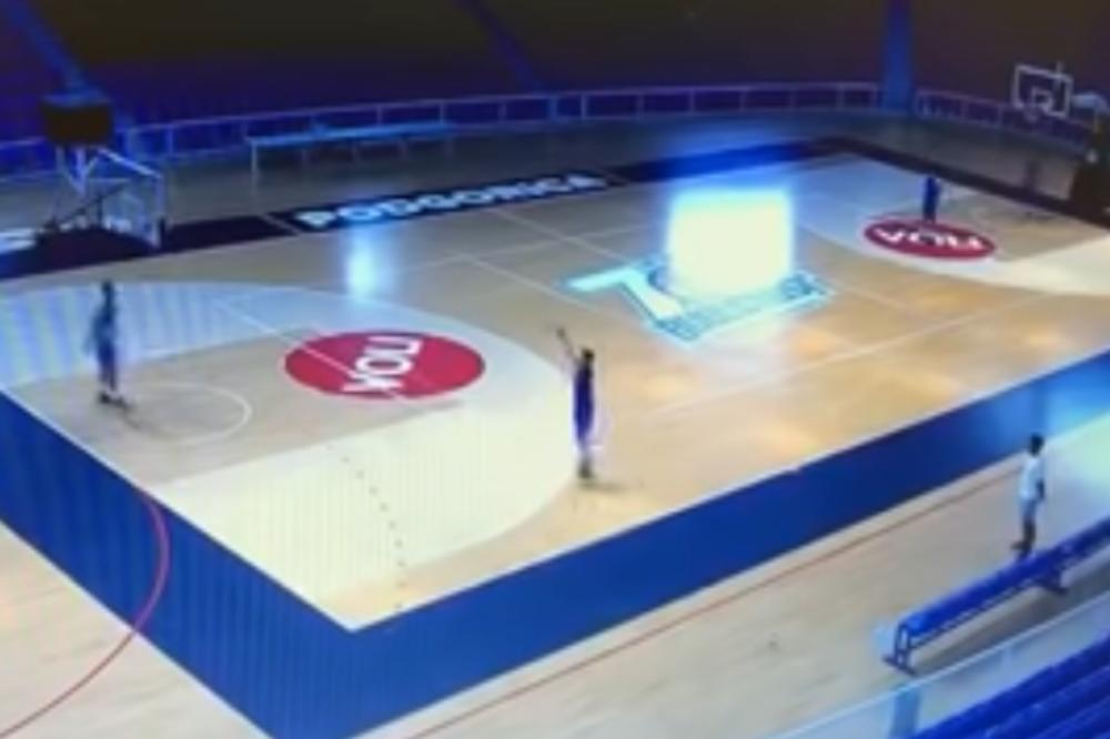 Photo of SNIMAK ZA GINISA: Košarkaš Budućnosti pogodio 70 VEZANIH TROJKI na treningu (VIDEO)