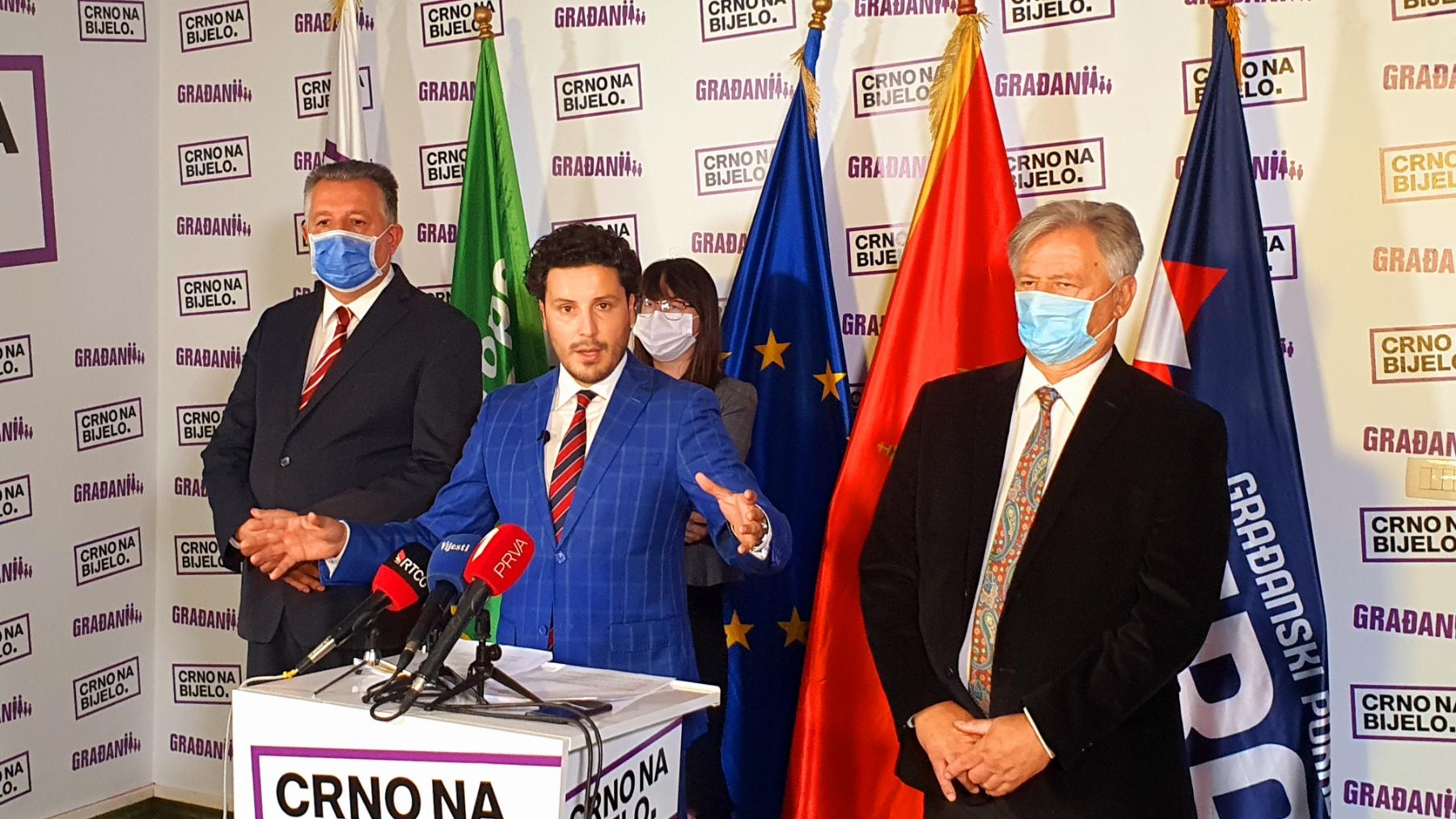 """Photo of PREDALI LISTU: Platforma """"Crno na bijelo"""" je Crna Gora u malom"""