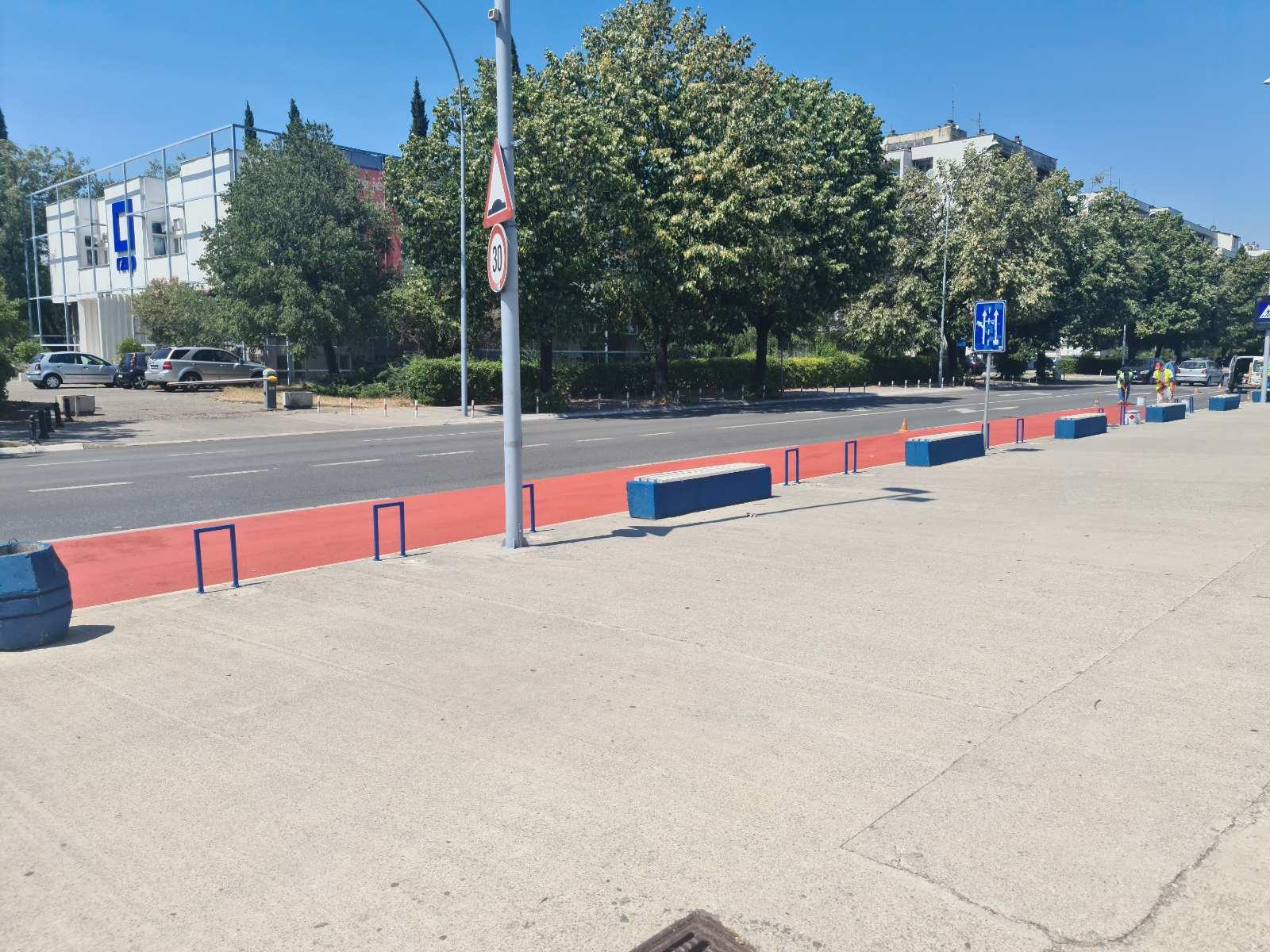 Photo of PODGORICA: Građani od sjutra dobijaju još jedan biciklistički koridor