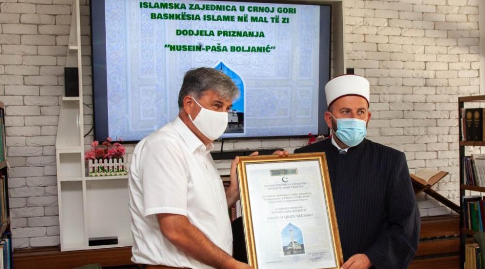 Photo of Brčvaku uručena najveća nagrada Islamske zajednice