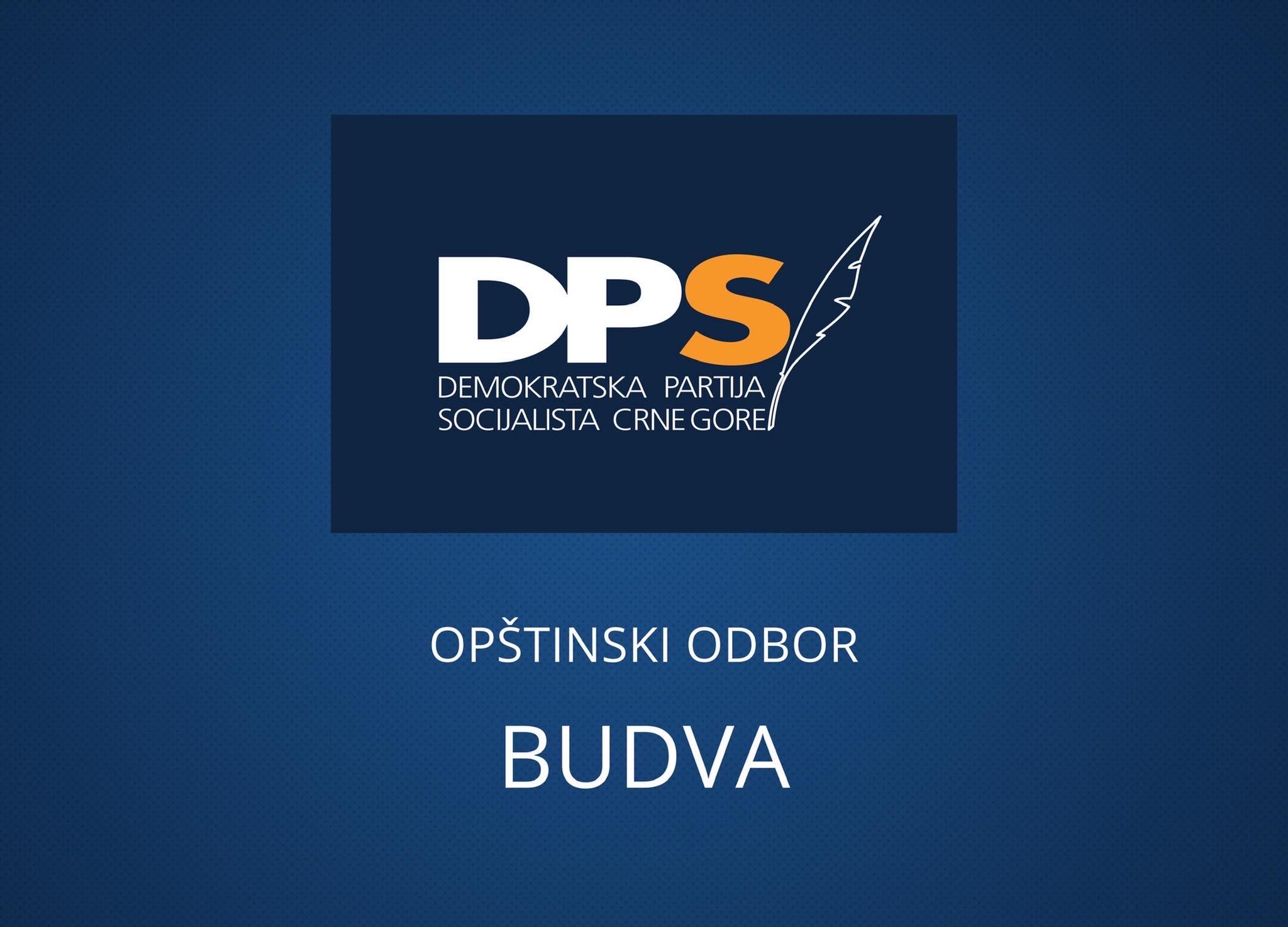 Photo of DPS BUDVA: Carević nezakoniti predsjednik Opštine Budva