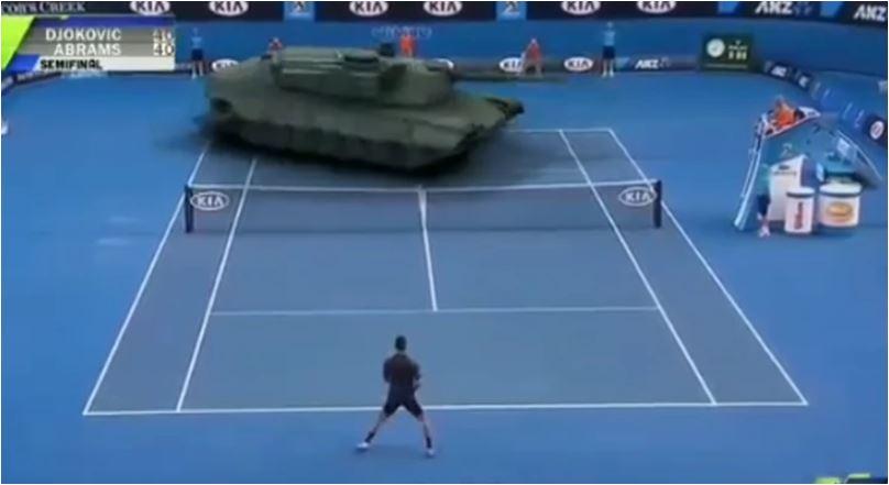 Photo of URNEBESNA MONTAŽA: Đoković igrao protiv TENKA, pogodite kako je uspio da ga PORAZI! (VIDEO)