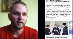 RAKOČEVIĆ ZA VOP: Ići ću do Strazbura, jedini u Evropi sam uhapšen zbog dijeljena vijesti na FB (VIDEO)