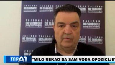 Photo of KNEŽEVIĆ PORUČIO: Izbaciću nove podatke narednih dana, imam puno toga o režimu Đukanovića (VIDEO)