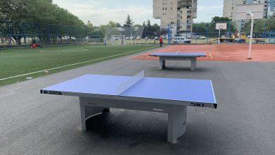 Photo of PODGORICA: Rekonstruisani poligon u Bloku pet dobio i stolove za stoni tenis