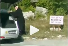 Photo of POGLAVAR CPC IMAO PEH NA PUTU: Dedeiću se zapalilo auto (VIDEO)