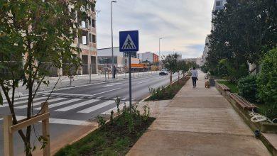 Photo of Pejzažno uređena i Baku ulica u Podgorici