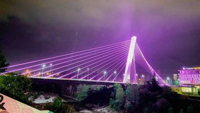 Photo of PODGORICA: Milenijum večeras osvijetljen ružičastom bojom