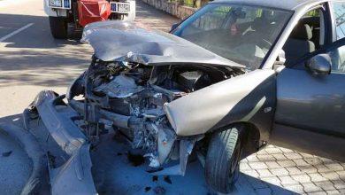 Photo of SAOBRAĆAJNA NEZGODA U BARU: Automobil se zapalio nakon udara u zid