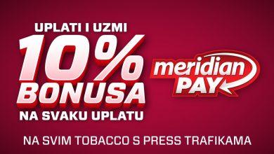 Photo of Meridian Pay ti donosi 10% bonusa!