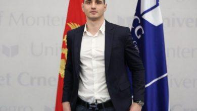 Photo of Jovan Miljanić, najbolji student Mašinskog fakulteta
