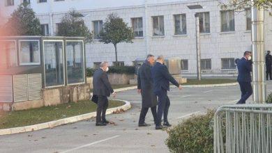 Photo of Počeo sastanak Krivokapića, Đukanovića, Bečića i Abazovića